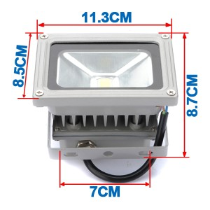 12V AC/DC 10W LED Flood light Cold White Floodlight Waterproof Outdoor