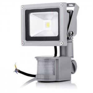 20W 12V LED flood light pir motion sensor detector