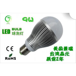9W E27 low voltage 12V lighting new high power led bulb / Solar Light Bulb