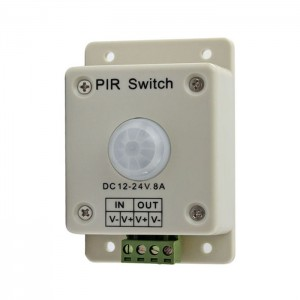 DC 12V-24V 8A Automatic Infrared PIR Motion Sensor Switch For light