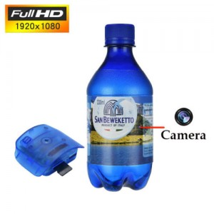 HD 1080P Hidden Spy Camera Surveillance Bottle Camcorder Motion Detection DVR DV