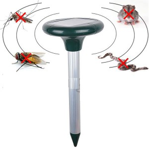 Ultrasonic Solar Mouse Snake Repeller