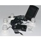 Mini solar light with 4 LED bulbs,solar lamp,home lighting system