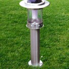 60cm stainless steel 0.5w solar Garden light