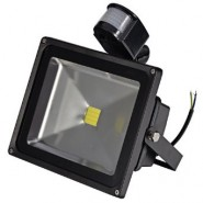 30W 12V LED flood light pir motion sensor detector