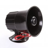 12V SIREN AIR HORN SPEAKER CAR AUTO VAN TRUCK PA SYSTEM