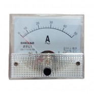 50A Analog AMP Meter Current Panel Meter Ammeter Gauge 85L1