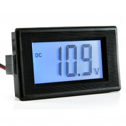 LCD digital voltage meter DC7.5~30V Measure Panel Meter Voltmeter