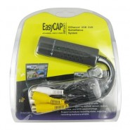 New Easycap 4 Channel 4CH USB 2.0 DVR Video Audio Capture Adapter Card