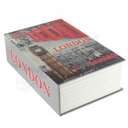 Hidden Book Safe Lock Secret Security Money Hollow Book Wall Dictionary London