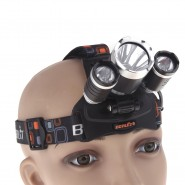 Boruit 4000Lm Recharge Headlamp Head Torch Light RJ-3000