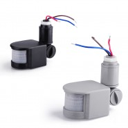Outdoor Security PIR Infrared Motion Sensor Switch Detector LED Light