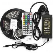 5M SMD RGB 5050  Strip light 300 LED + 44 Key IR Remote