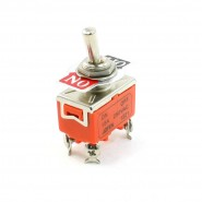 15A/250VAC ON/OFF 2 Position 2 Screw Terminals DPST Toggle Switch