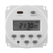 DC 12V LCD Display Power Programmable Timer Switch