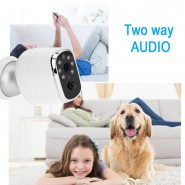 FIRST IN CYPRUS. Battery Powered WiFi Wireless Home Security IP Camera PIR Surveillance Camera