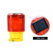 Solar warning lights