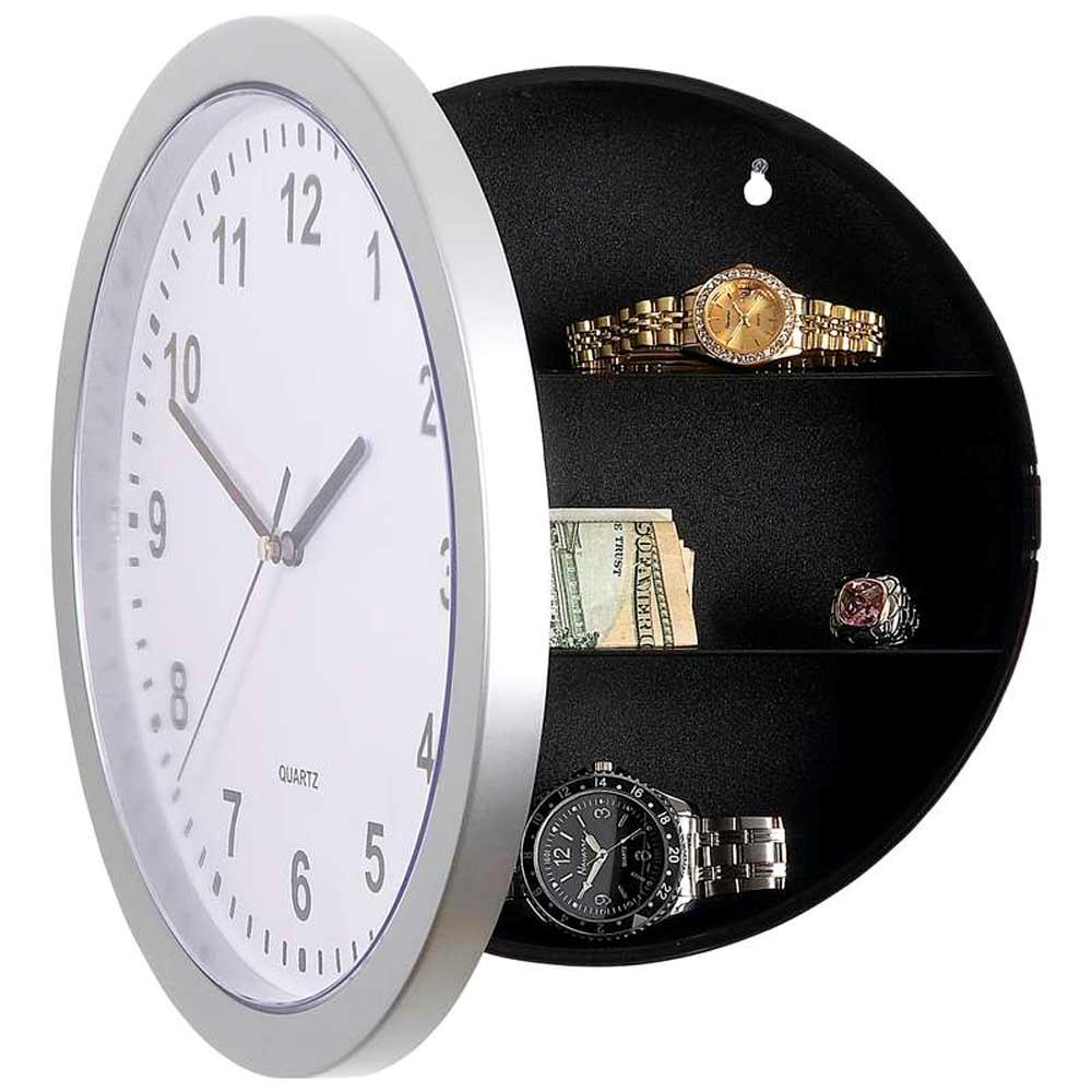 Wall clock hidden safe choice image home wall decoration ideas wall clock hidden safe amipublicfo Images