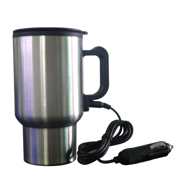 This Stainless Steel Cup Plugs Into Your Car S Cigarette Lighter And Maintains A Temperature Of 60 C Keeping Tea Or Coffee Warm Drinkable While
