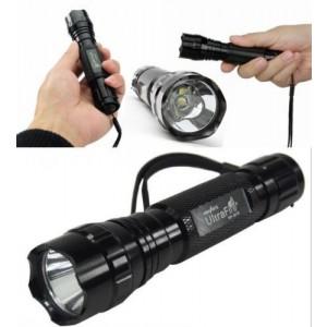 NEW POWERFUL UltraFire 1000Lm Lumens WF-501B  LED Compact Flashlight Torch