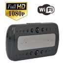 Wifi Ip Spy Camera Clock Night Vision Remote Surveillance Camera Full Alarm Clock Cam  P2p