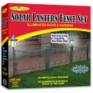 Garden Creations Solar Lantern Fence Set