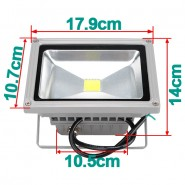 12V AC/DC 20W LED Flood light Cold White Floodlight Waterproof Outdoor