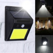 Solar Power Super-bright  48 LED PIR Motion Sensor Wall Light Waterproof Outdoor Garden Lamp (with low and high light)