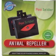 Pest Soldier Nighttime Solar Powered Animal Repeller Waterproof No Chemicals