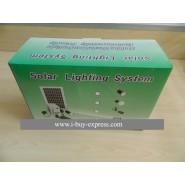 Mini solar power generation system Home lighting 5W LED lights + phone charging