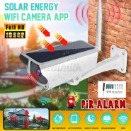 Solar Power Wifi IP Camera Wireless Remote Monitor Security Surveillance Camera