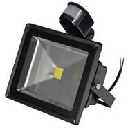 30W 12V LED flood light pir motion sensor detector