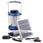 72 LED Solar Portable Light With Car Charger