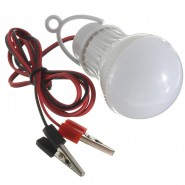 7W Portable LED Light Bulb Lamp Camping Hiking Emergency DC12V
