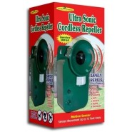 Ultra sonic Cordless Pest Animal Repeller Outdoor Safely Repel